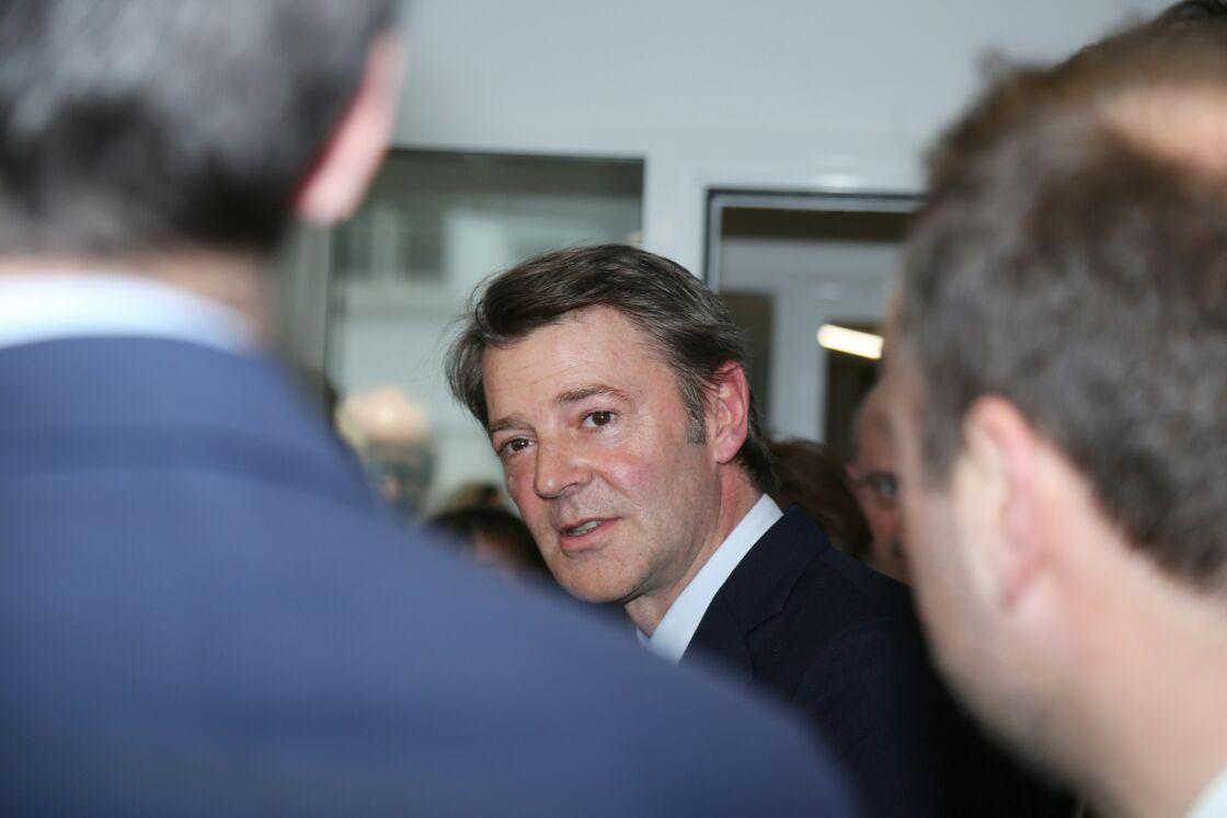 François Baroin lors d'une réunion sur le coronavirus, le 5 mars 2020