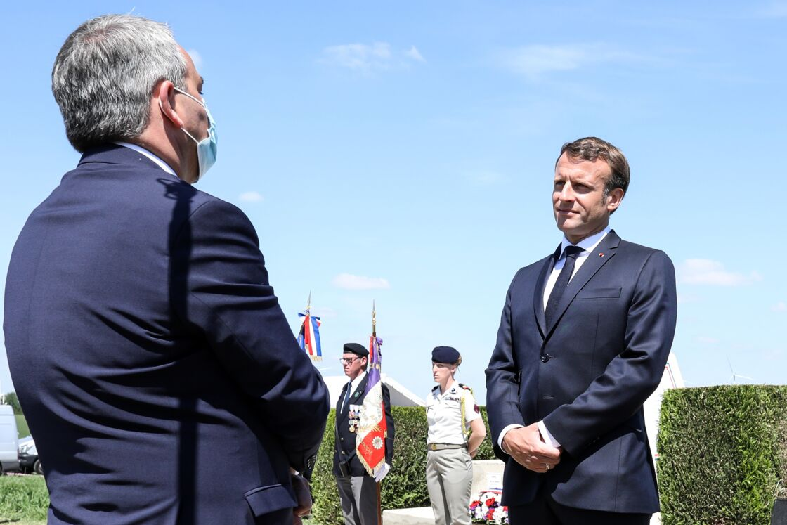 Xavier Bertrand face à Emmanuel Macron ce dimanche 17 mai
