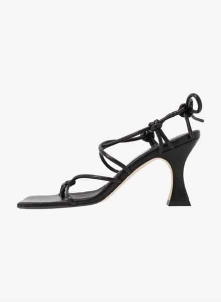 Sandales à talons pyramides, 259,95€, Miista sur Zalando.fr