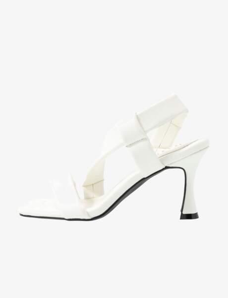 Sandales à talons pyramides, 37,99€, raid sur Zalando.fr
