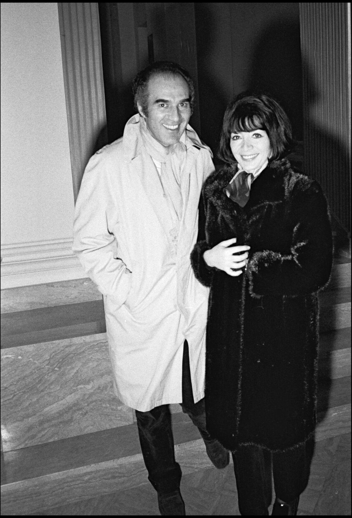 Michel Piccoli et Juliette Gréco