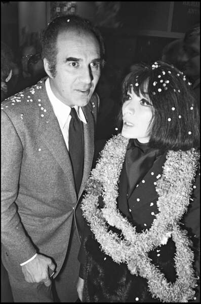 Michel Piccoli et Juliette Gréco