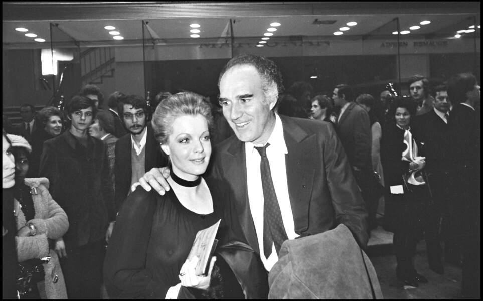 Romy Schneider et Michel Piccoli