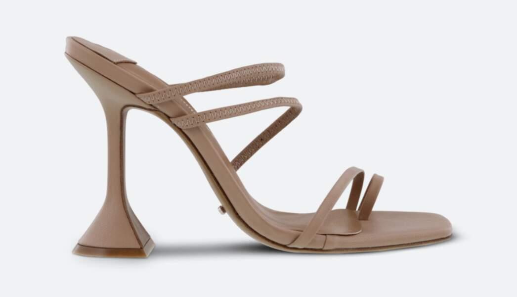 """Sandales à talons pyramides """"Stella Skin Capretto Heels"""", 131€, Tony Bianco"""