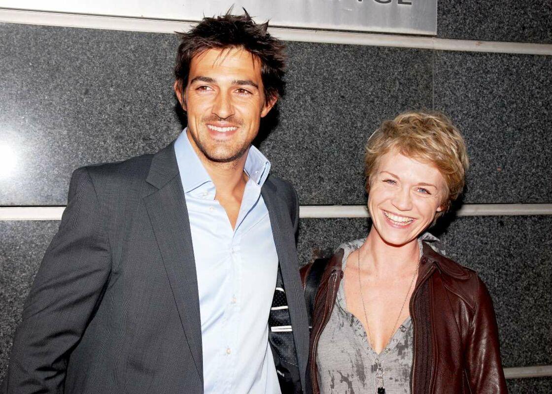 Jean-Pascal Lacoste, et Virginie Caliari, sa partenaire dans