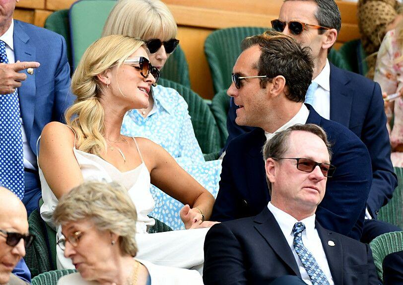 Jude Law et sa femme Phillipa Coan