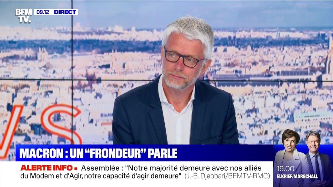Hubert Julien-Laferrière était sur le plateau de BFM TV ce 19 mai 2020.