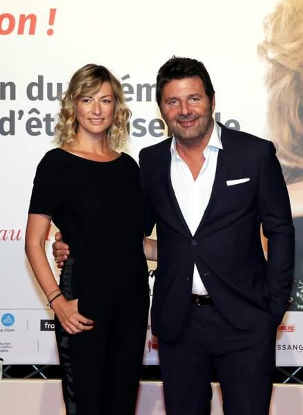 Philippe Lellouche et sa compagne Vanessa Boisjean au Festival Lumière à Lyon