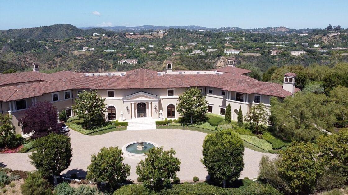 Maison occupée par Meghan Markle et le prince Harry à Beverly Hills, le 20 mai 2020