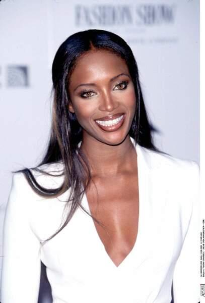 Naomi Campbell  le visage aussi lisse qu'à 30 ans !