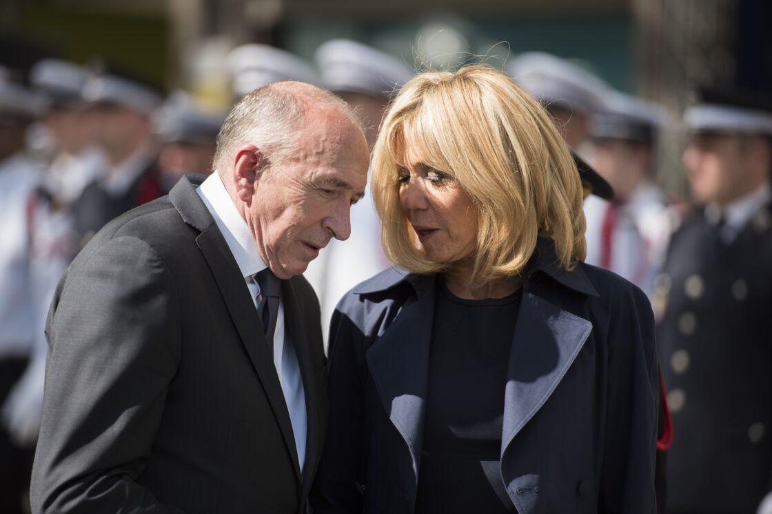 Brigitte Macron surnommait Gérard Collomb