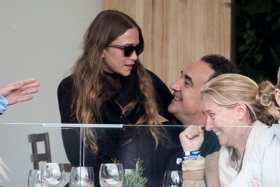 Mary-Kate Olsen et Olivier Sarkozy en 2019
