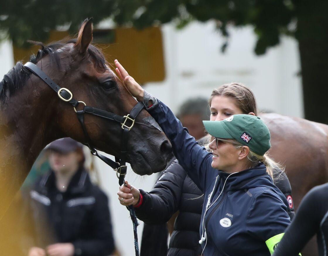 Zara Tindall a passé beaucoup de temps avec ses chevaux depuis le début du confinement.