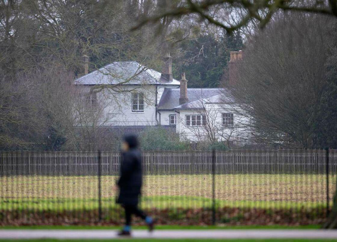 Le Frogmore Cottage, à Windsor, résidence du prince Harry et de Meghan Markle quelques mois en 2019.