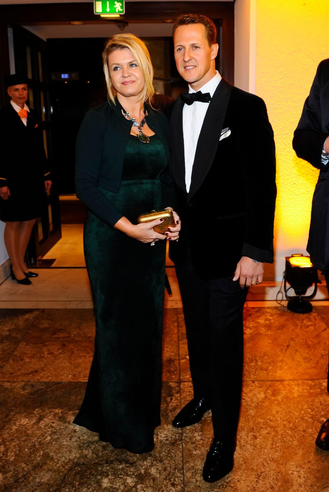 Corinna et Michael Schumacher en 2012