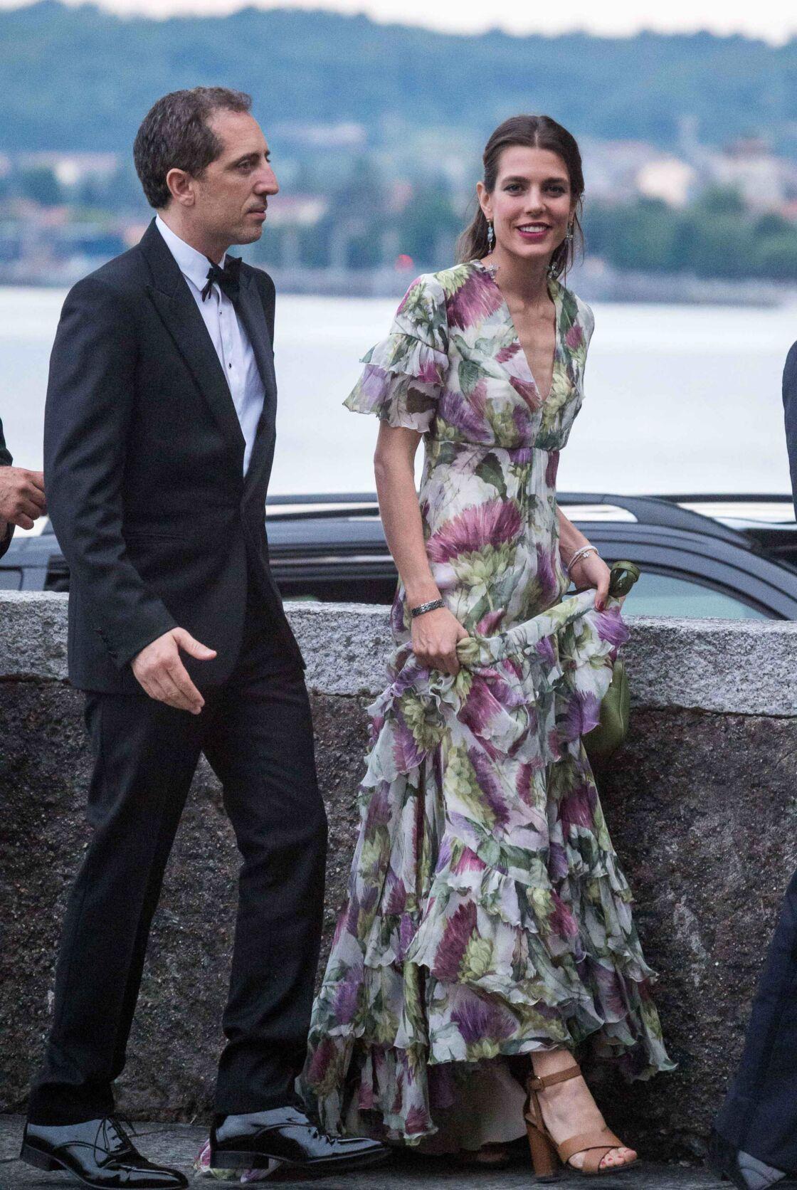 L'une des plus belles robes à fleurs du gotha avec Charlotte Casiraghi en 2015