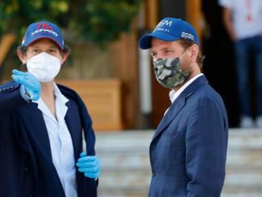 PHOTOS - Andrea Casiraghi masqué et stylé : la famille de Monaco mobilisée pour un grand projet