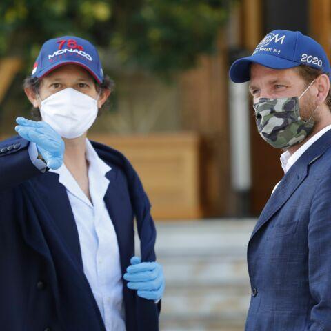 PHOTOS – Andrea Casiraghi masqué et stylé: la famille de Monaco mobilisée pour un grand projet