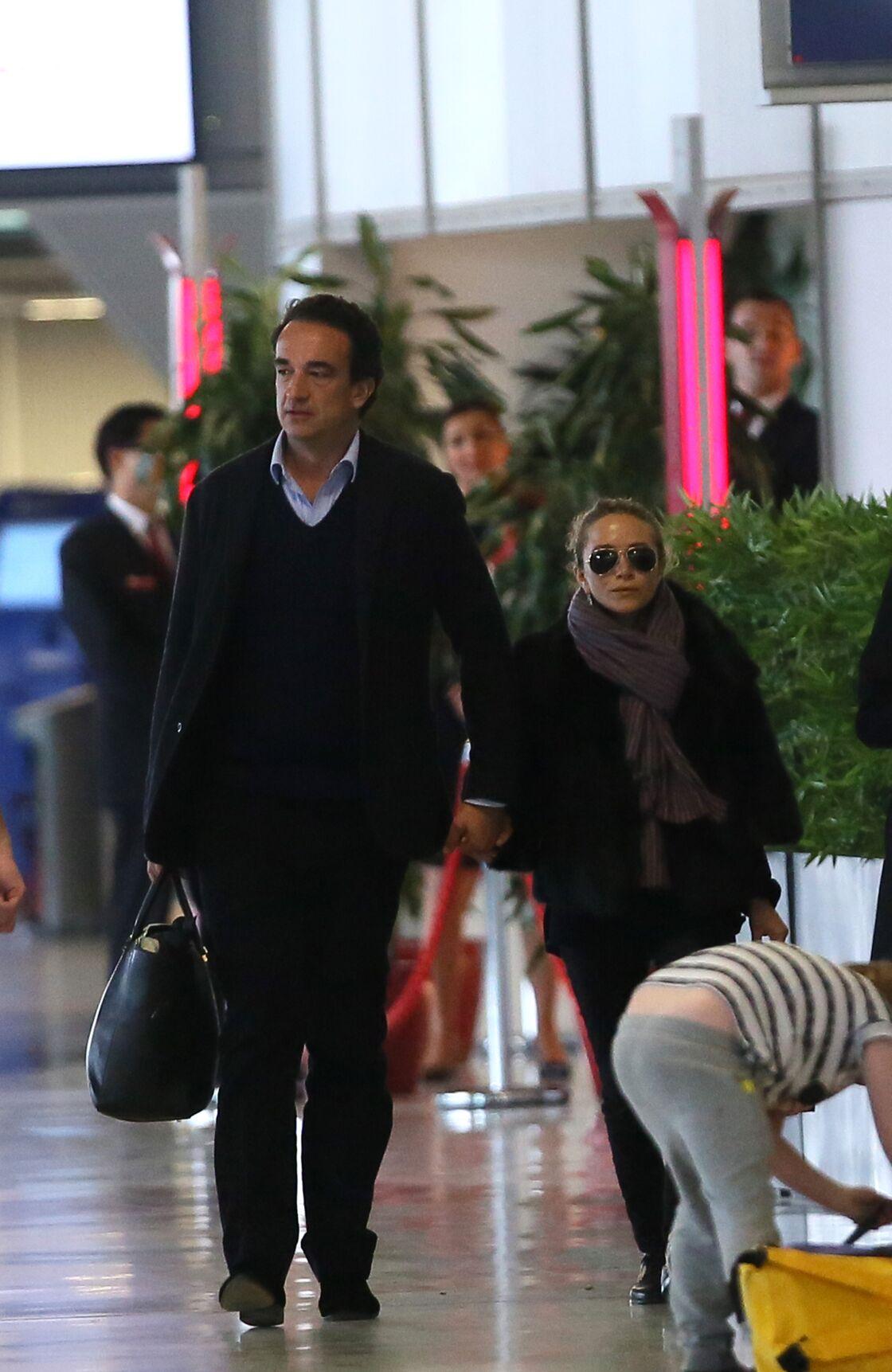 Olivier Sarkozy et Mary-Kate Olsen en 2014