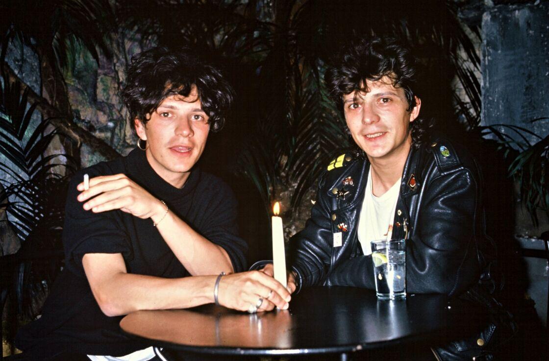 Nicola et Stéphane Sirkis, à Paris, le 21 juin 1988.