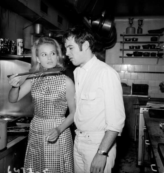 Sophie Daumier et Guy Bedos ont divorcé en 1977.