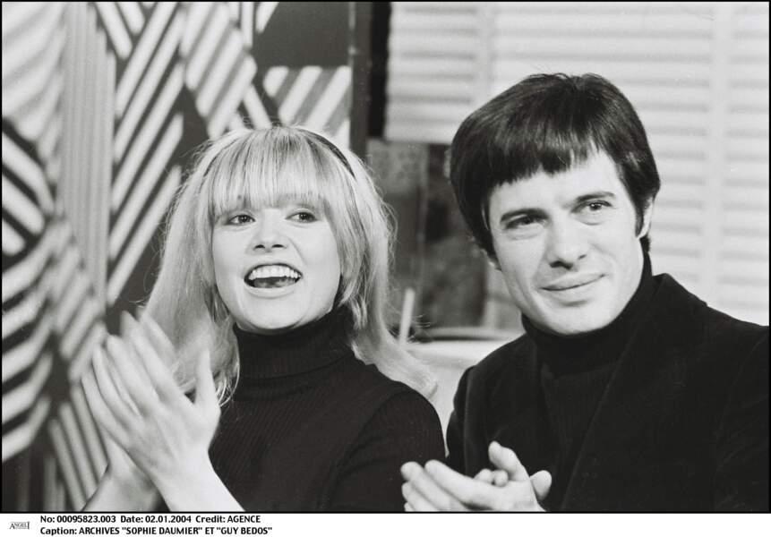 Sophie Daumier et Guy Bedos se sont mariés en 1965, avant de divorcer 12 ans plus tard.