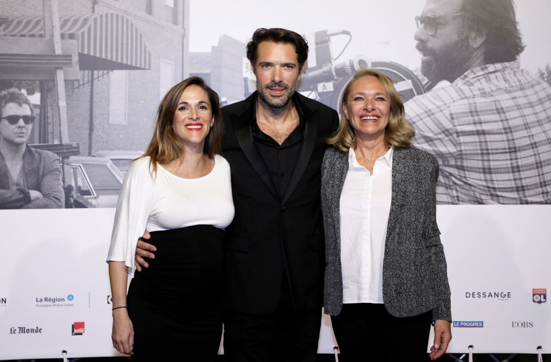 Victoria Bedos, Nicolas Bedos et leur mère Joëlle Bercot à la cérémonie d'ouverture à la Halle Tony Garnier du 11ème Festival Lumiere 2019 de Lyon le 12 octobre 2019