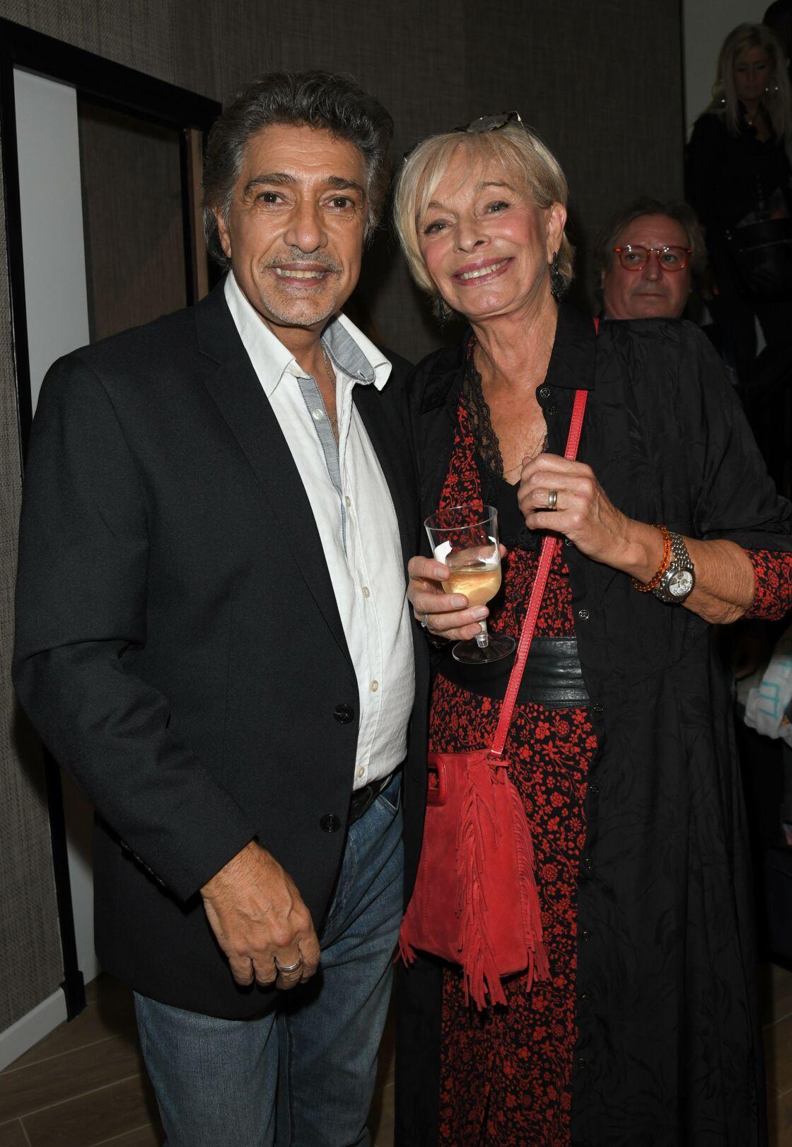 Frédéric François et sa femme Monique, à Paris, en octobre 2019.