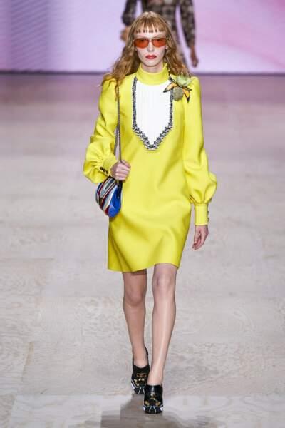 Eclats de jaune chez Louis Vuitton