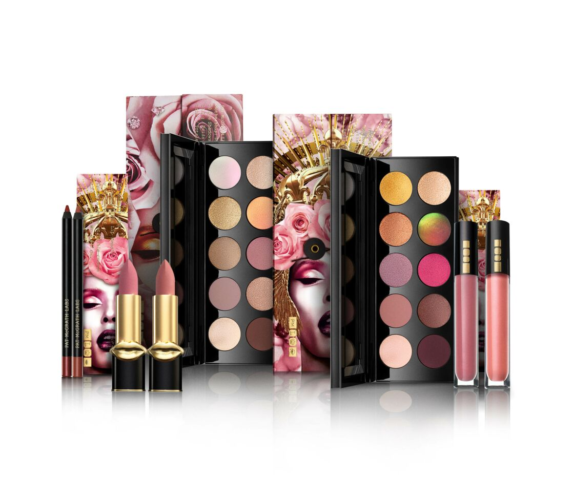 La collection Divine Rose est en vente dès le 29 mai sur le site de Pat McGrath et en juin en exclu chez Sephora.