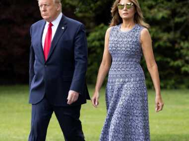 PHOTOS - Melania Trump fan des marques de mode françaises