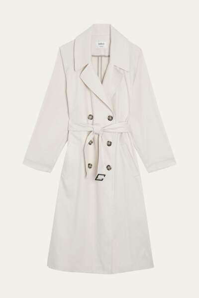 Imperméable en coton, 390€, Ba&sh.