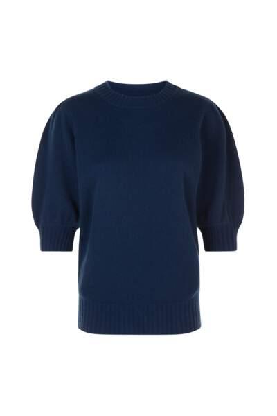 Pull en laine et cachemire, 190€, Max&Moi.