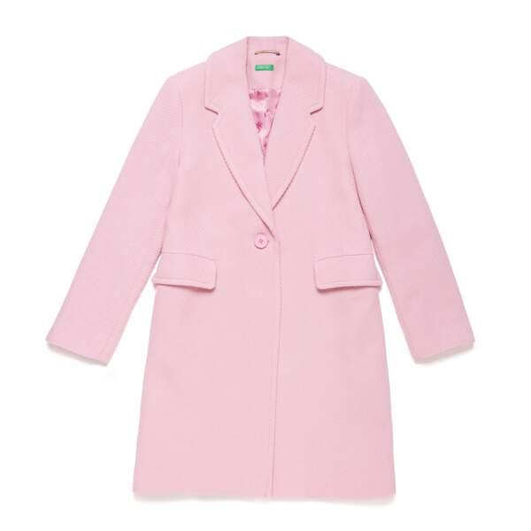 Manteau en coton, 159€, United Colors of Benetton.