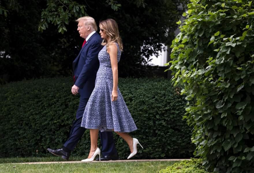 Melania Trump adore les robes signées Azzedine Alaïa.