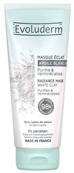 Masque Eclat à l'Argile Blanche, Evoluderm, 4 €
