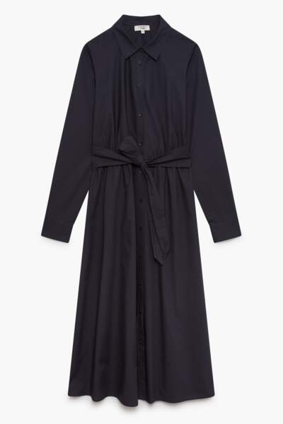 Robe en coton bio, 120€, Caroll.