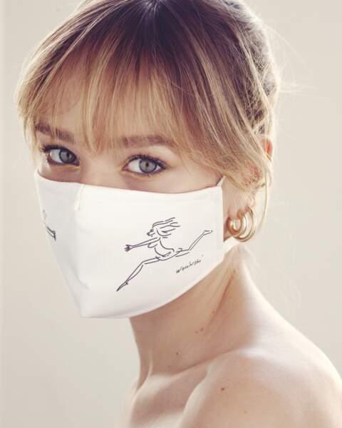 Si vous avez la peau sensible, adoptez des produits de soins qui vont réparer et apaiser la peau irritée par le masque.