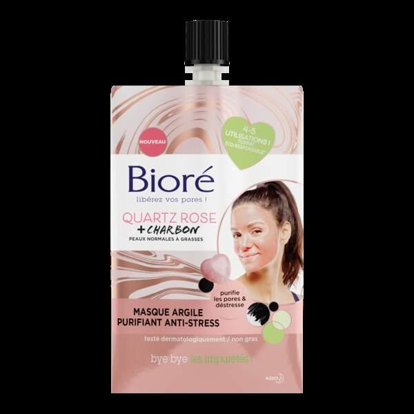Masque Argile Purifiant Anti-Stress, Bioré, 4,95€