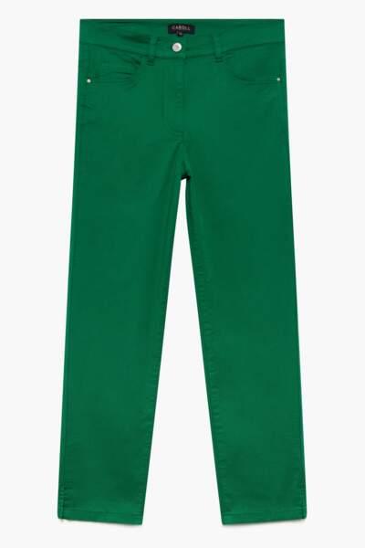 Pantalon en denim, 65€, Caroll.