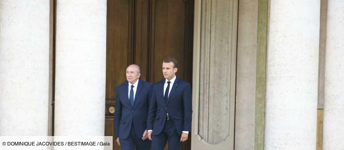 « Une planche pourrie » : les proches d'Emmanuel Macron se lâchent sur Gérard Collomb - Gala