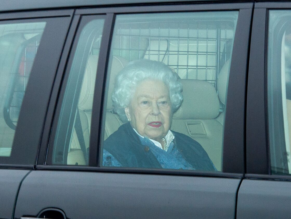 La reine Elizabeth II, en mars 2020
