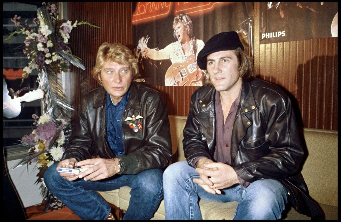 Des années d'amitié ont lié Johnny Hallyday et Gérard Depardieu