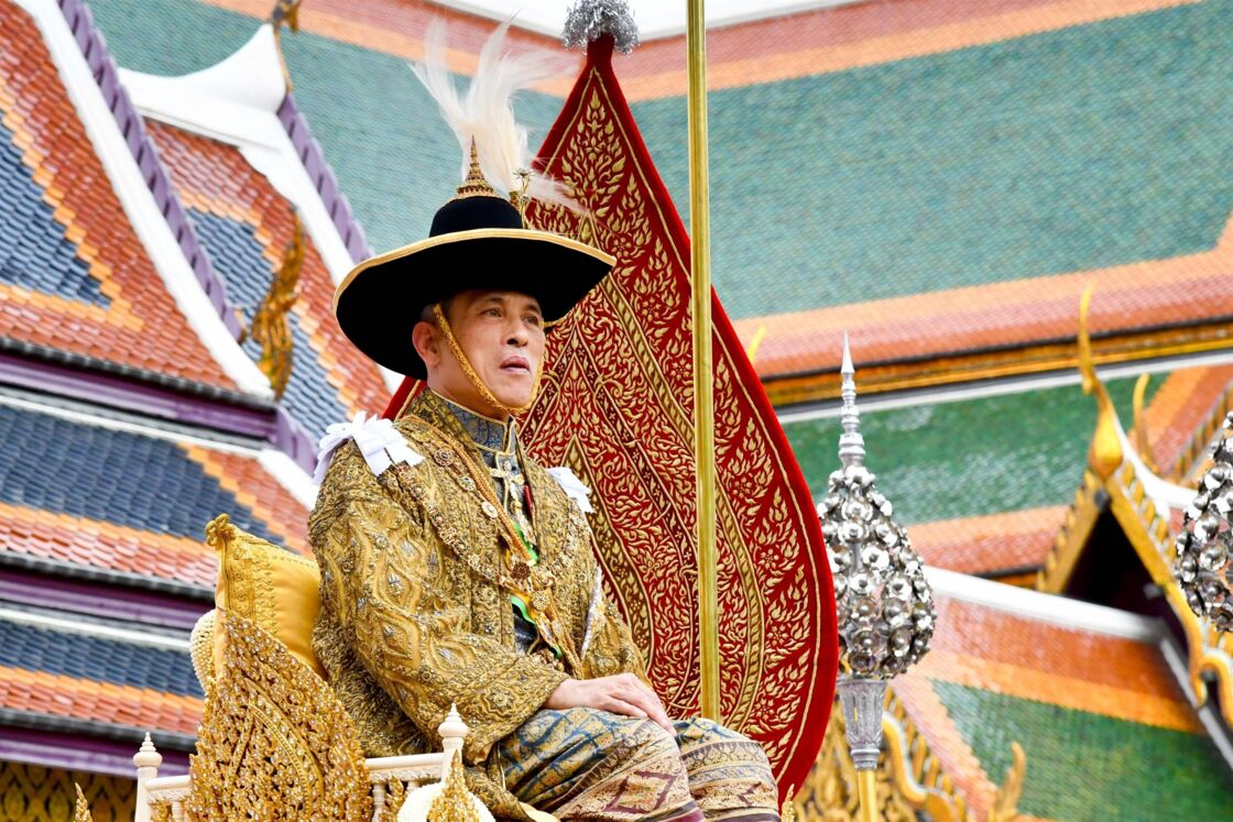Le roi de Thaïlande Rama X, en 2020
