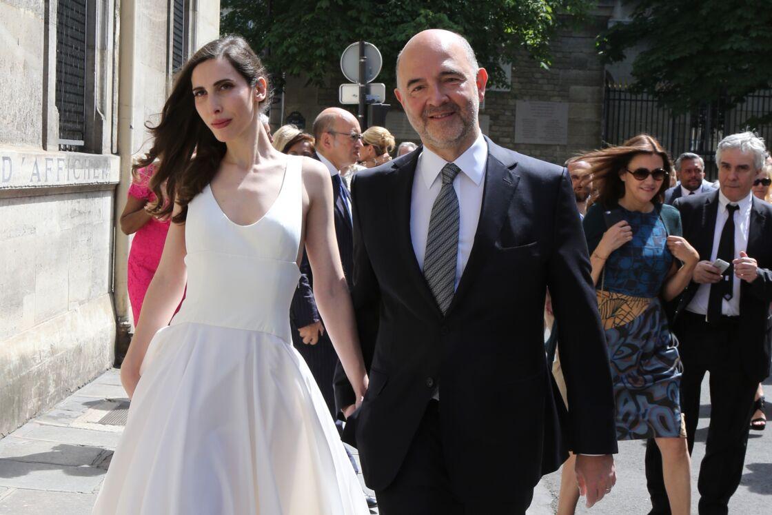 Anne-Michelle Basteri et Pierre Moscovici se sont mariés le 13 juin 2015 et sont les parents d'un petit garçon prénommé Joseph
