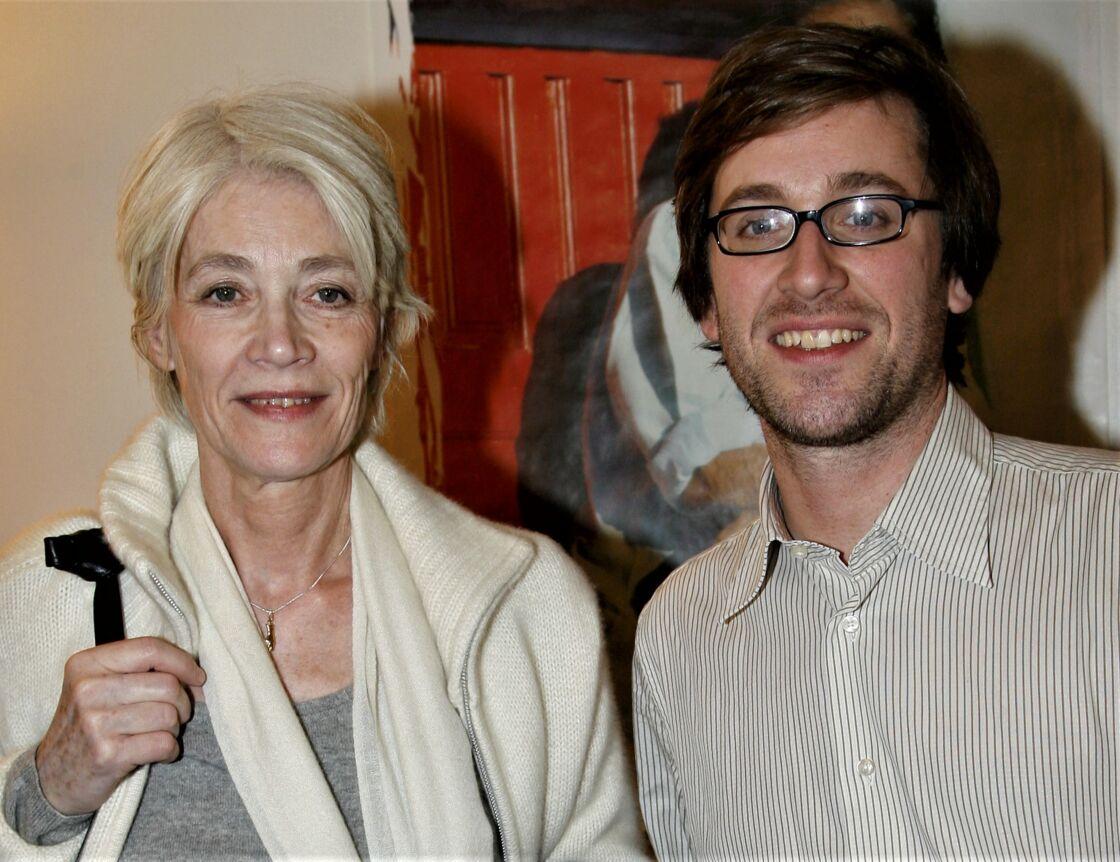 Françoise Hardy et Thomas Dutronc en 2007