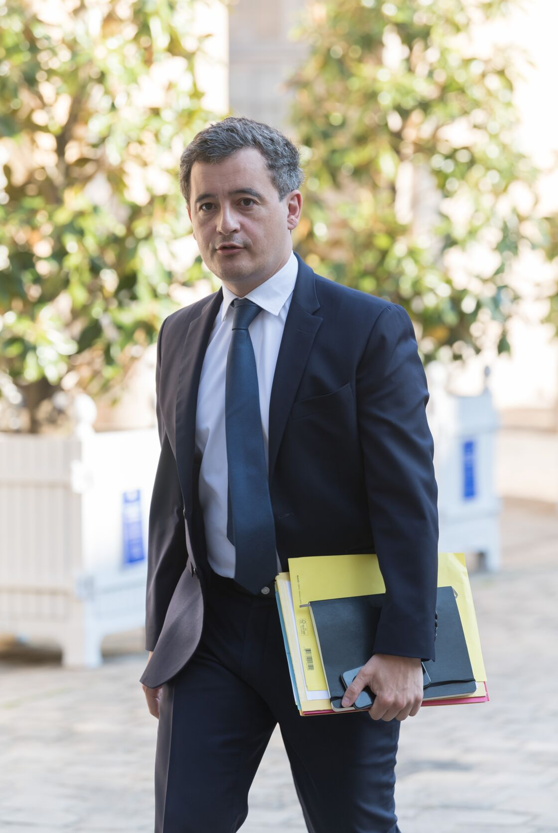 Gérald Darmanin, le ministre des Comptes publics, le 14 mai dernier, lors du Comité interministériel sur le tourisme à Matignon.