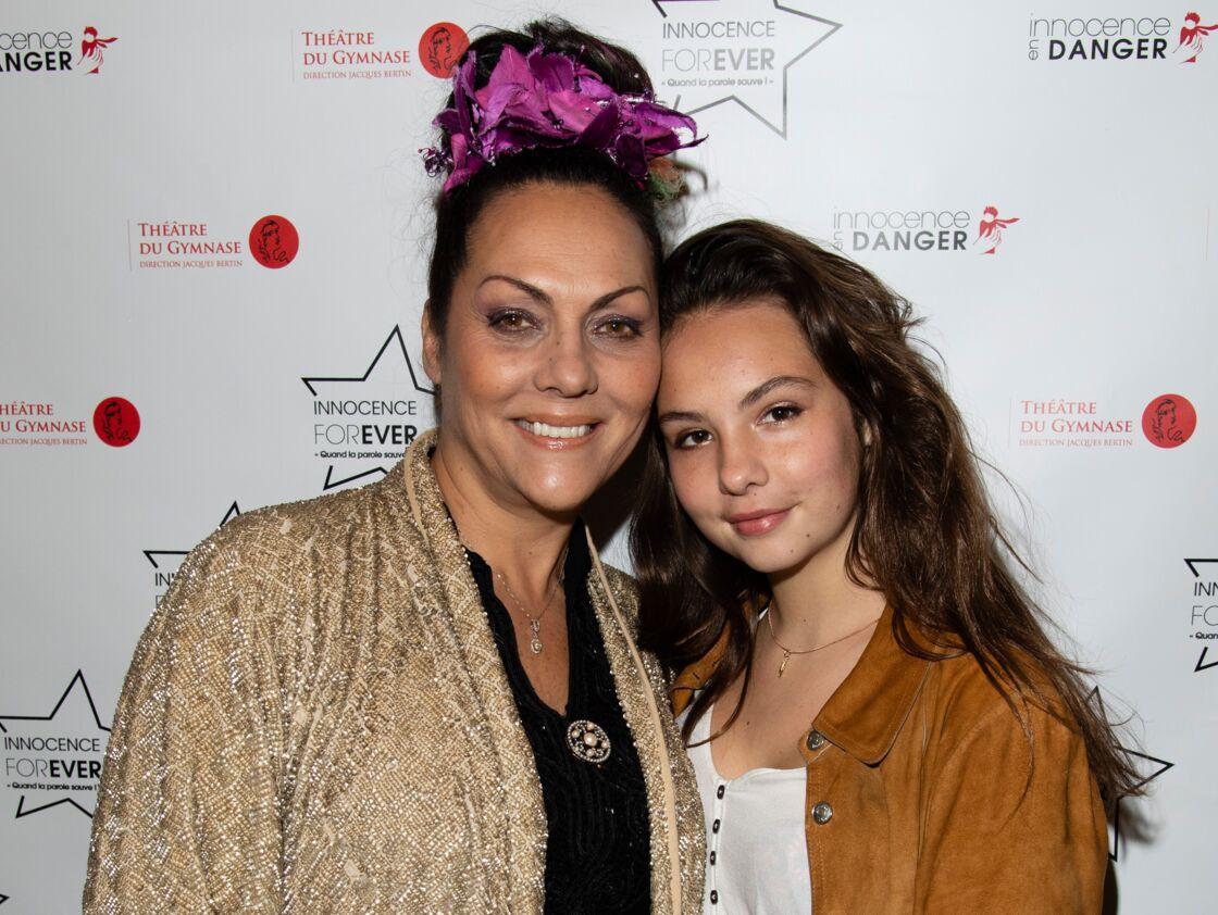Hermine de Clermont-Tonnerre et sa fille Allegra en 2018