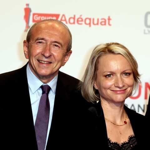 L'étrange réaction de la femme de Gérard Collomb lors de sa démission