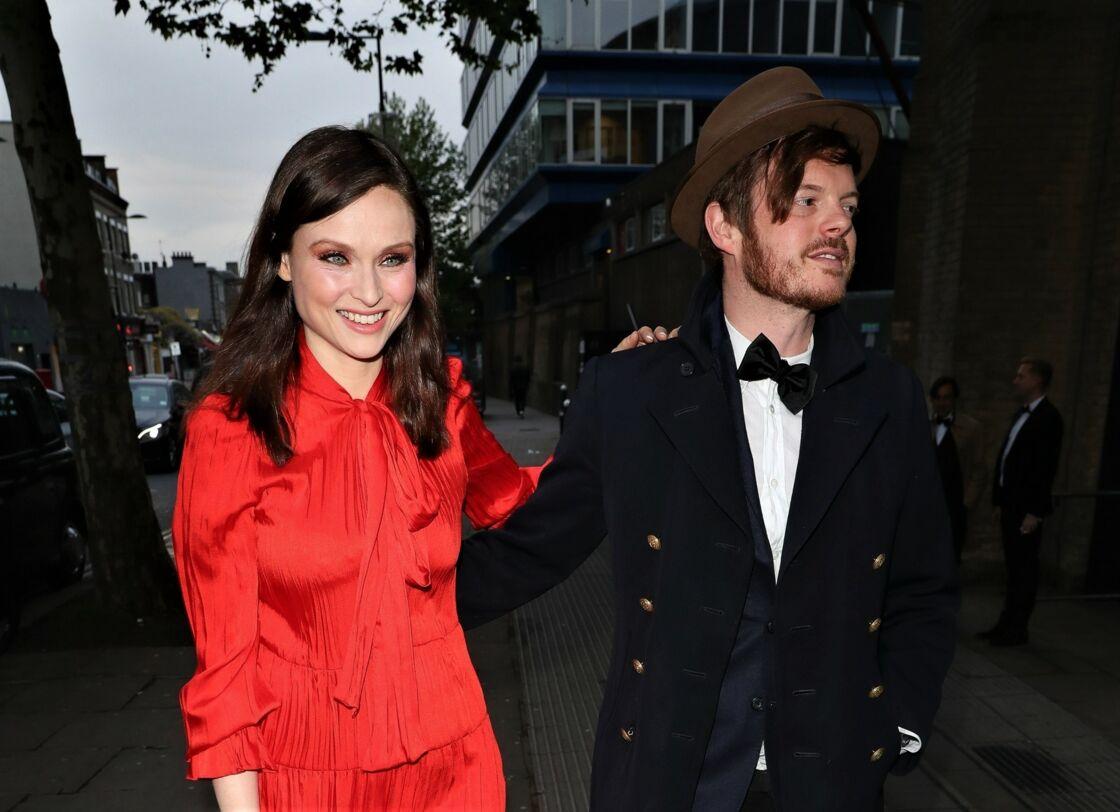 Sophie Ellis-Bextor et son mari Richard Jones, à Londres, en mai 2019.